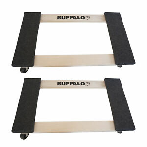 Buffalo Tools Hdfdolly2 2 Piece 1000 Lb Furniture Dolly Set Includes 2 Pieces