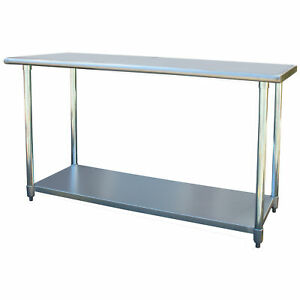 Sportsman Series Stainless Steel Work Table 24 X 60 Inches