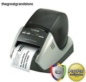 Brother Professional Label Printer P touch Label Machine Business Office Home