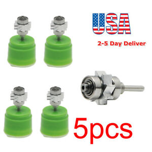 5xsteel Bearing Denshine Cartridge Turbine For Standard High Speed Led Handpiece