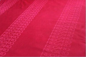 Jdm Recaro Fabric Red Color For Sparco Seat Cover Door Panel Armrest Fabric