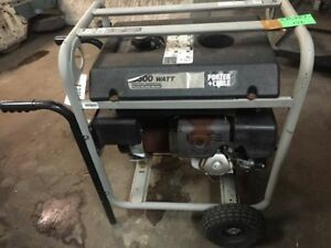 Porter Cable 6500w Electric Generator Model h6501s W Honda Engine Gx390
