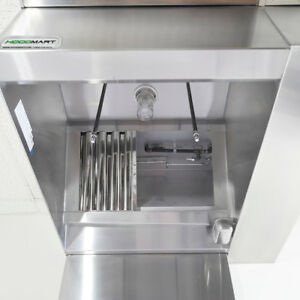 Hoodmart 10 X 48 Brp Back Return Plenum Makeup Air Commercial Kitchen Hood
