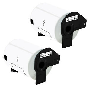 2 Roll Of Dk 1241 Shipping Labels Compatible For Brother Ql 1100 1050 4in X 6in
