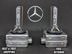 Stock Fit Hid Xenon Headlight Bulbs For Mb S models 2007 2013 Low Beam Set Of 2