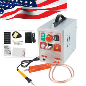 Led Dual Pulse Spot Welder Tester 18650 Battery Charger 800a 36v Micro computer