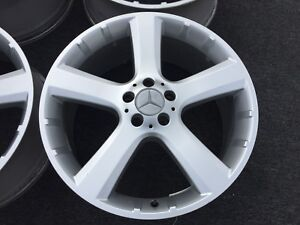 1 Genuine Mercedes Gl350 Gl450 Weels Rims 20 In Oem Factory Rare Gl Class Gl500