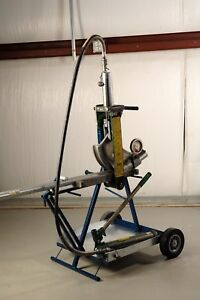 Bendcart Bc82 Is A Vertical Portable Bending Platform For The Greenlee 882