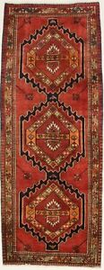 Semi Antique Wide Runner Ardabil Meshkin Persian Rug Oriental Area Carpet 4x10