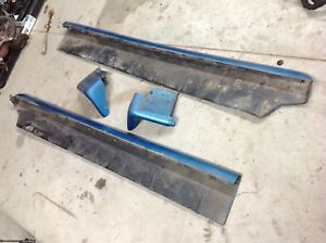 94 98 1995 Mustang Ground Effects Rocker Moldings Set Door Fender Free Ship