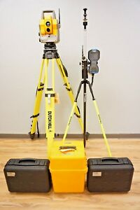 Trimble 5603 Dr200 Reflectorless Robotic Total Station 2 4 Radio 3 5600