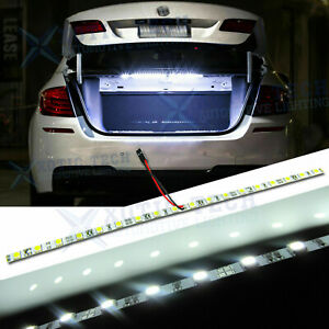Hid Bright White 18 Smd Led Strip Light Car Trunk Cargo Fit Honda Civic Accord