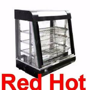 Omcan 21749 27 Counter Top Hot Food Warmer Glass Display Case Dw cn 0686