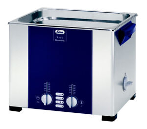 Elma S100h 2 5 Gal Heated Ultrasonic Cleaner 37khz 11 8 X 9 4 X 5 9 1007152