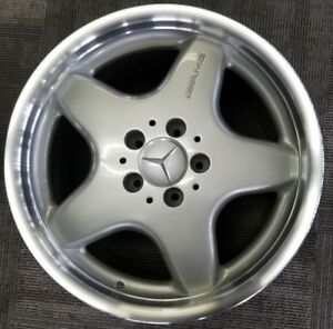 Amg Mercedes C43 Factory Oem Wheel Rim 17x8 1 2 2000 Rear Wheel