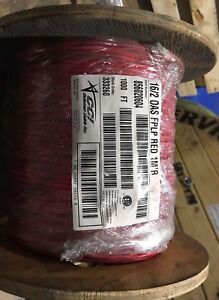 16 2c Shielded Fplp Fire Alarm Cable 1000 Reel Red Free Shipping