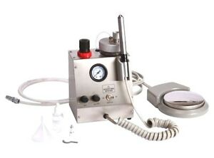 Portable Dental Air Turbine Handpiece With Spray Feature 02880