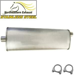 Fits Buick Chevy Olds Pontiac Saturn Stainless Steel Exhaust Muffler