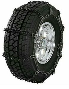 New V bar Hvy Duty Light Truck Tire Chains 30x9 50r15 Lt215 75r15 9 14 5mh 16