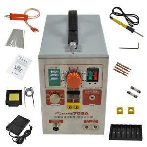 2 In 1 1 9kw Spot Welder Soldering Iron Staion 709a Battery Welding Machine