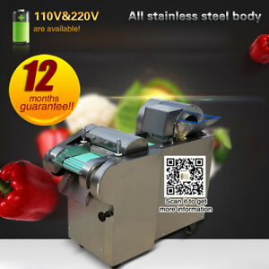Commercial Vegetable Slicer Slicing Potato Cutter Machine Electric Food Slicer