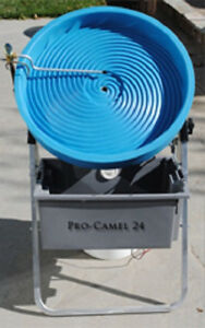 Camel Mining Pro camel 24 Spiral Gold Panning Machine New Updated Design