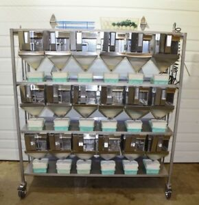 Allentown Metabolic Rodent Cage Rack complete With Feeder Waste