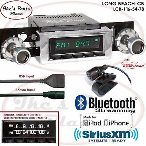 Retrosound Long Beach Cb Radio Bluetooth Ipod Usb 3 5mm Aux In 116 54 Skylark