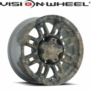 Vision Real Tree Camo Wheel Size 20 X 9 Pcd 6 139 7 Offset 18mm