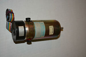 Pittman 14204c223 Dc Motor 30 3 Volts Dc With Optical Encoder Used