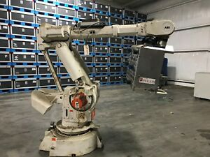 Abb Irb6400 M98 Robot With Controller And Teach Pendant Dr 164m