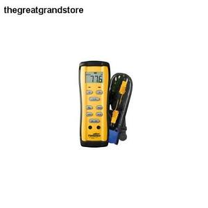 Fieldpiece St4 Dual Temperature Meter 58 To 2000f 50 To 1300c T1 T2 Rubber