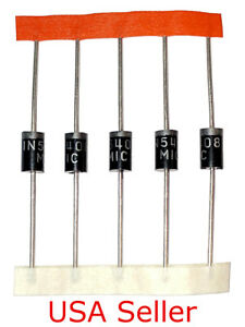 1n5817 Diode 20pcs Schottky Rectifier Diodes 20v 1a Do 41 In5817 Usa Seller