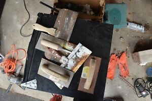 Assorted Drywall Taping Tools