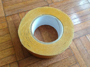 Lot Of 2 Rolls Dc 4420lb Double Sided Pvc Tape 2 Inches X 36 Yards White