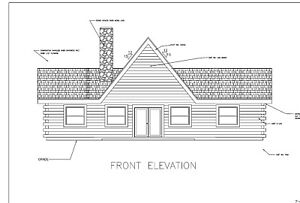 Log Cabin Kit 6 X 8 D logs crab Orchard 1500 Square Feet 26 X 36 55 450 00