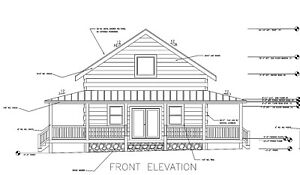 Log Cabin Kit 6 X 12 Chink Logs walnut Ridge 40 X 28 1715 Sq Ft 55 650 00