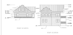 Log Cabin Kit 6 X 8 D logs sky View 24 X 42 1459 Sq Ft 54 260 00