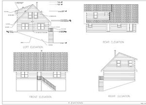 Log Cabin Kit 6 X 12 Chink Logs turkey Creek 44 X 28 1910 Sq ft 55 350 00
