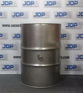 124 Gallon Stainless Steel Wine Drum With Side 2 Inch Tri Clover Fitting