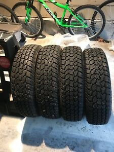 Studded Snow Tires Size 185 75r14