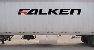 Falken Tires Logo Sticker Vinyl Decal Jdm Drift Tires Various Sizes