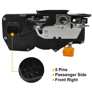 Door Latch Lock Actuator Assembly Passenger Side For 07 09 Gmc Chevy 25945754