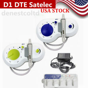 Dental Piezo Ultrasonic Scaler Woodpecker D1 Dte Satelec Type Handpiece tips