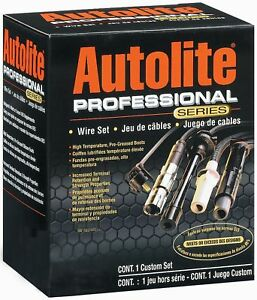 Autolite Wire 97001 Professional Series Spark Plug Wire Set