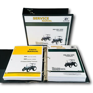 Service Manual For John Deere 850 950 Tractor Repair Parts Catalog Sn 020000