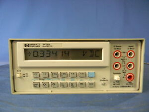 Agilent 3478a Multimeter 30 Day Warranty