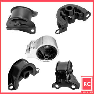 1994 1995 Honda Civic 1 6l Ex Engine Motor Trans Mount Set 5pcs For Auto Trans