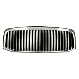 New 2006 2007 2008 Dodge Ram 1500 Chrome Vertical Grill Grille