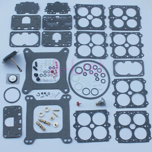 New Carburetor Rebuild Kit For 3 200 Holley 4160 390 600 750 850 Cfm 1850 3310
